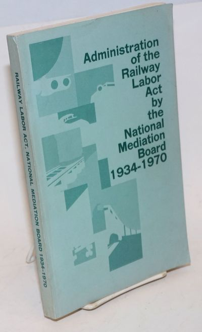Washington DC: GPO, 1970. Paperback. xi, 203p., paperbound in 9x6 inch pale green wraps, mild signs ...