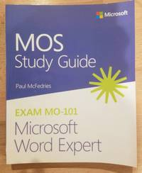 image of MOS Study Guide for Microsoft Word Expert Exam MO-101