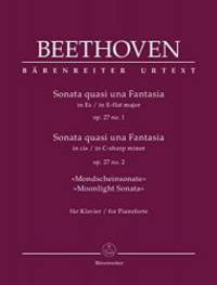 "Beethoven: Piano Sonatas, Op. 27 (No. 1 in E-flat Major and No. 2 ""Moonlight"")..."
