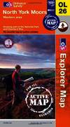 image of North York Moors - Western Area (OS Explorer Map Active)