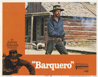 image of Barquero (Collection of eight original color lobby cards from the 1970 film)