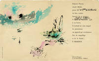 image of le Makeur (Original French invitation for a 1958 cosmetics gala)