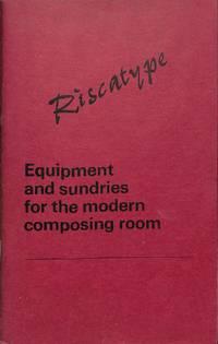 Range of composing room equipment.