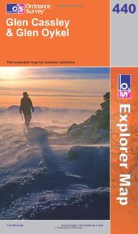 image of Glen Cassley and Glen Oykel (OS Explorer Map Series)