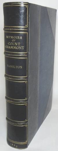 image of MEMOIRS OF COUNT GRAMMONT.  Edited, and with notes, by Sir Walter Scott.  With a Portrait of the Author and Thirty-Three Etchings by L. Boisson on India Paper from Original Compositions, by C. Delort