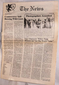 image of The News: vol. 3, #13, September 16, 1988