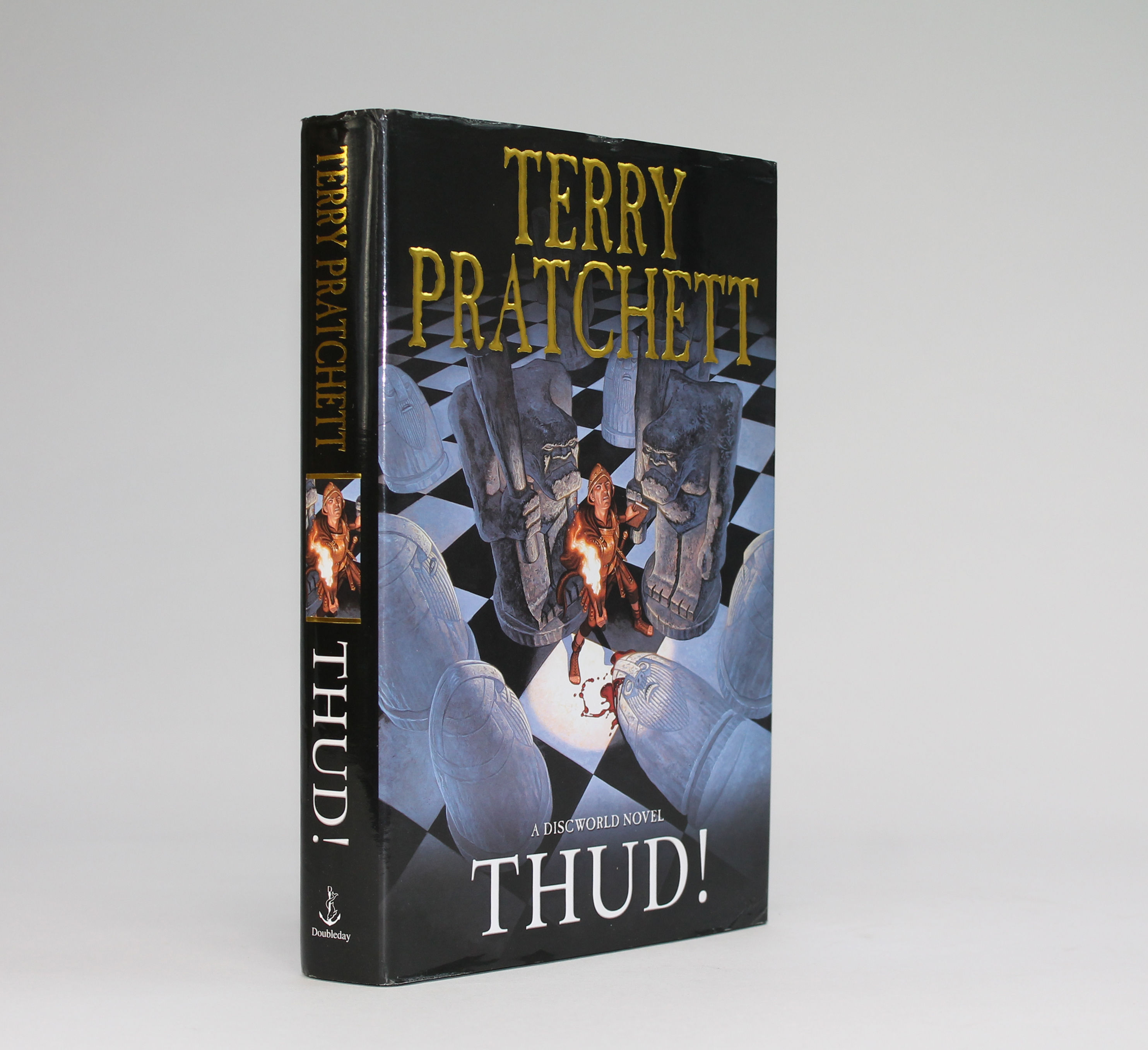 thud terry pratchett essay Pratchett's women vi: pole dancers, goblin girls, and the family man in thud and snuff pratchett's women vii: a wonderful personality and good hair – agnes nitt maskerade and carpe jugulum pratchett's women viii: has scythe, will teach school – susan sto helit in soul music , hogfather & thief of time.