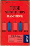 Sams Photofact TUBE SUBSTITUTION HANDBOOK No. 17