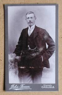 Carte De Visite Photograph: A Studio Portrait of Man Wearing a Suit.