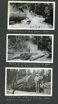 Photo Album of Logging in Humboldt and Eureka Counties, c. 1951-1960