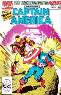 Captain American Annual #9 1990 The Terminus Factor