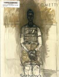 SOTHEBY'S: ALBERTO GIACOMETTI: IMPRESSIONIST & MODERN ART EVENING SALE (NEW YORK,...