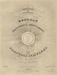 [D. 608]. Notre amitié est invariable. Rondeau pour le Piano-Forte à Quatre Mains ... Oeuvre 138 ... Pr. f1.15 x C.M.