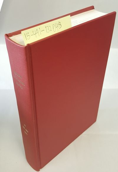Menasha: Mathematical Association of America, 1975. Hardcover. Octavo; G Hardcover; Red spine with G...