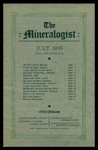 image of THE MINERALOGIST - Volume 3, number 7 - July 1935