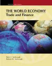 The World Economy: Trade and Finance by  Robert M Yarbrough - Hardcover - from World of Books Ltd (SKU: GOR001552500)