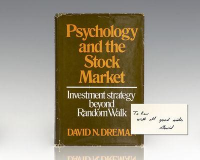 New York: AMACOM, 1977. First edition of Dreman's first book. Octavo, original cloth. Association co...