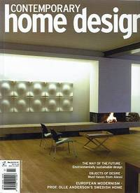 Contemporary Home Design.  No. 3.2