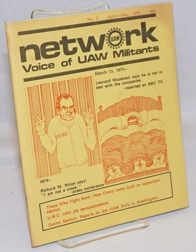 Highland Park, MI: Network, 1975. 38p., stapled wraps, illus., 6.75x8.5 inches, front wrap unevenly ...