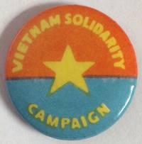 image of Vietnam Solidarity Campaign [pinback button]
