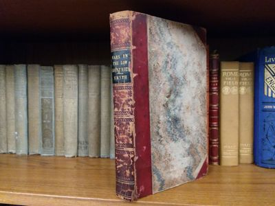 London: Printed for T. Egerton, 1825. 8vo., xvi, 414pp.; VG-; 3/4 bound with red cloth, spine has bl...
