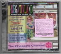 Negativland Presents Over the Edge Vol. 9: The Chopping Channel , Sealed CD w/Human Remains [Industrial, Experimental Music]