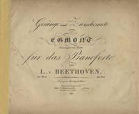 [Op. 84]. Gesänge und Zwischenacte zu Egmont [Piano-vocal score] Trauerspiel von Goethe für das Pianoforte ... 84s Werk ... Pr. 1 Thlr.