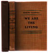 image of We are the Living: Brief Stories