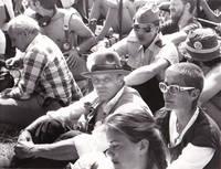 image of Original photograph of Joseph Beuys, 1982