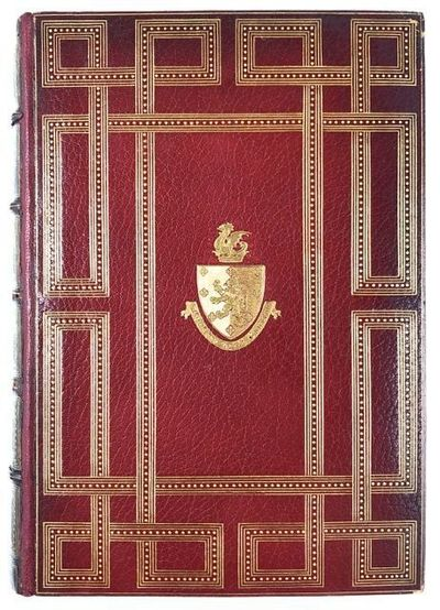 Paris: Edouard Rouveyre, 1887. First edition. First edition. Large 4to. A stunning Riviere binding, ...
