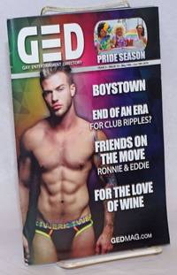 image of GED: Gay Entertainment Directory Year 3, #12, May 15-June. 15, 2016; Pride Season