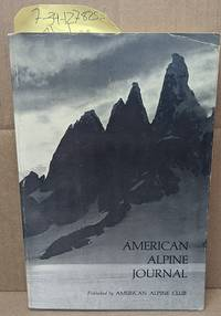 The American Alpine Journal Volume 19, Number 1, Issue 48