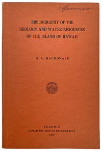 Bibliography of the Geology and Water Resources of the Island of Hawaii.