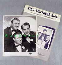 """8""""x10"""" Signed Photograph Of The Three Suns Musical Trio"""