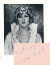 Inscription and Signature