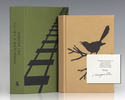Random House, 2015. Signed limited edition of the author's second novel. Octavo, bound in full moroc...