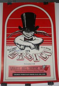 [ Advertising Poster, Magic ] Milt Larsen Presents MAGIC! 31st edition November 1-18 Variety Arts Theatre '84