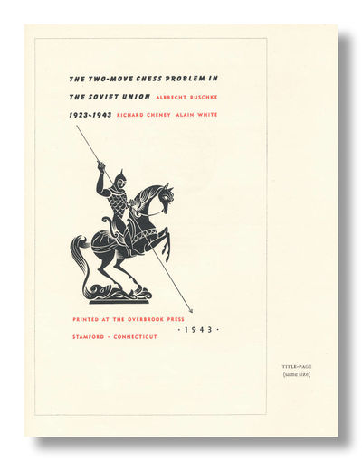 Stamford, CT: The Overbrook Press, 1963. pp. 37-48. Quarto. Three folded and gathered sheets, fore a...