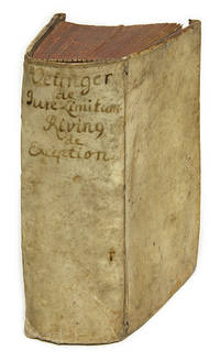 Tractatus De Jure Et Controversiis Limitum [Bound With 2 Other Books] by  Samuel  Johann; [Oetinger];Stryk  - 1711  - from The Lawbook Exchange Ltd (SKU: 67758)