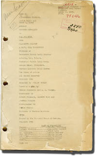 image of The Big Pond (Post-production script for the 1930 pre-Code film)
