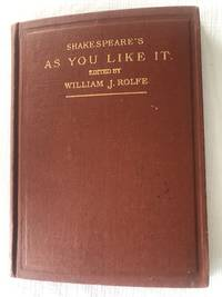 image of SHAKESPEARE'S COMEDY AS YOU LIKE IT