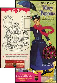 WALT DISNEY'S MARY POPPINS: A GOLDEN COLOR AND RE-COLOR BOOK