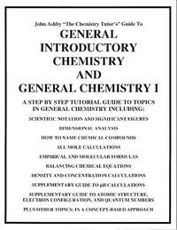 General Introductory Chemistry and General Chemistry I