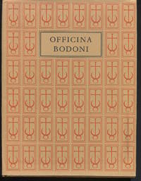 The Officina Bodoni. Books Printed by Giovanni Mardersteig on the Hand Press 1923-1977.