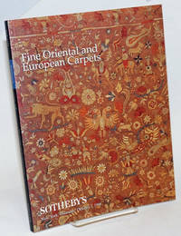 Fine Oriental and European Carpets; Sotheby's New York Thursday October 1 1998