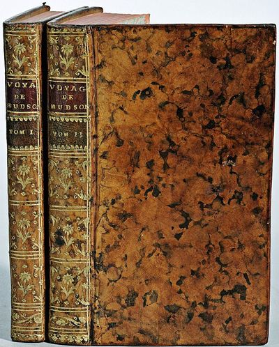2 volumes. 182 pages with fold out frontispiece map and three additional folding engravings; 319 pag...