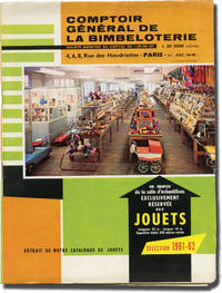 image of Comptoir general de la bimbeloterie (Original French toy company sales catalogue and supplements, 1961-1962)