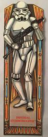 Original 1983 Star Wars Return of the Jedi IMPERIAL STORMTROOPER Bookmark; #14 in the series