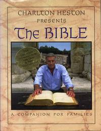 Charlton Heston Presents the Bible: A Companion for Families (1997) (Signed)