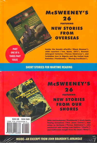 SF: McSweeney's , 2008. Paperback. As new. As new in publisher's shrinkwrap.